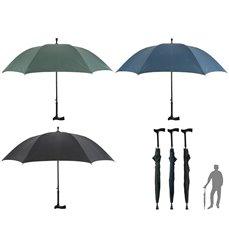Gåstav med paraply TP154