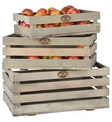 Fruktkasser sett med 3 stk NG32