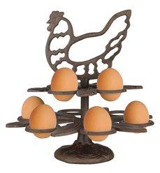 Egg holder cast iron