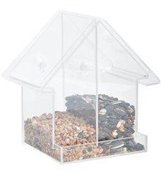 Acrylic combi window feeder house