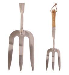 Hagegaffel lang type i rustfritt stål GT15