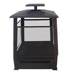 Pagoda terrace heater with wire