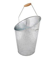 Zinc coal bucket