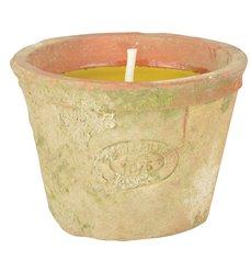 Citronella candle aged teracotta