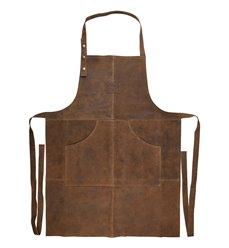 Bbq apron leather