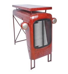 Vintage traktorbord rød IH033