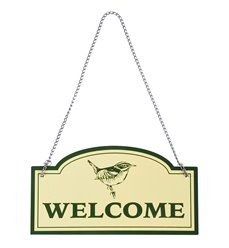 """Sign """"Welcome"""""""