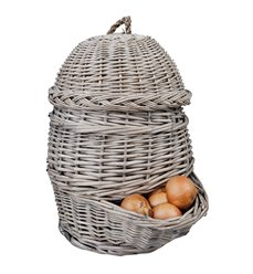 Onion basket grey