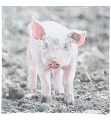 Paper Napkins piglet 33x33cm
