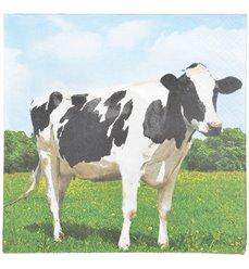 Paper Napkins cow 33x33cm