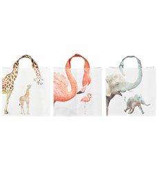 Shopping bag zoo animalnecks ass.