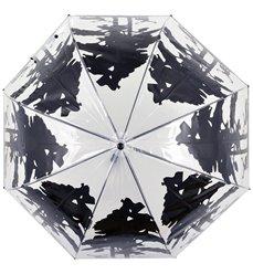 Umbrella transparent forest