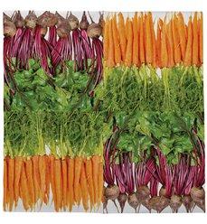 Paper napkins vegetables 33x33cm