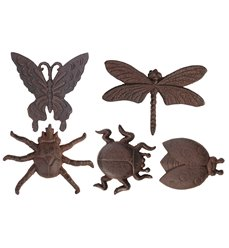 Walldecoration insects