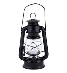 LED light lantern black