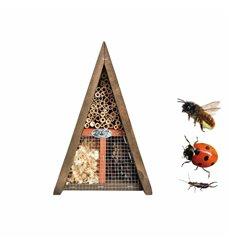 Insekthotell triangel bie, marihøne, saksedyr WA36